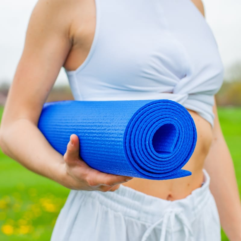 Yoga Mat & Carry Bag