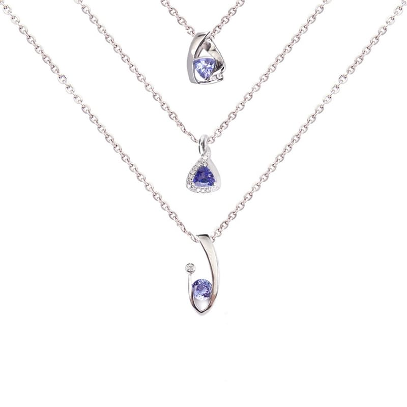 Classic Pendants with Diamonds (More Options Available)