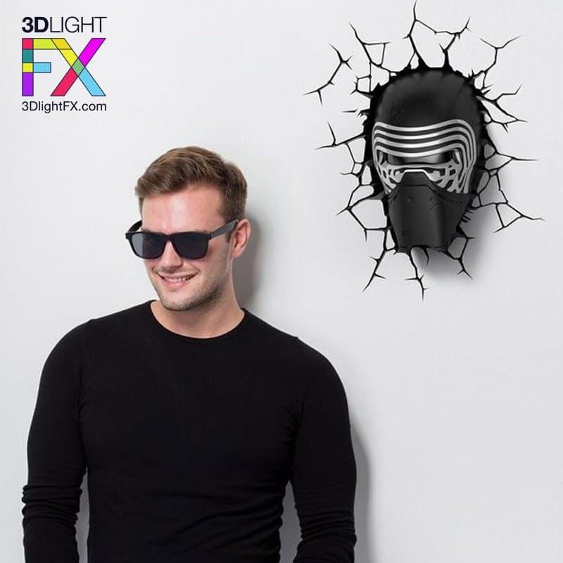 Star Wars EP7 - Kylo Ren 3D Deco Light