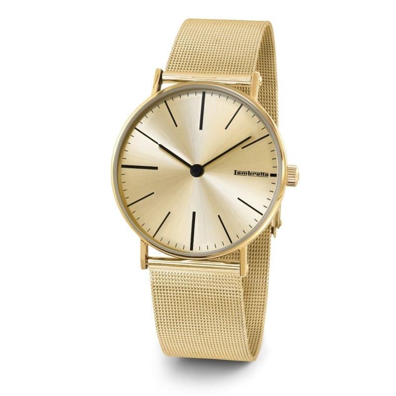 Unisex Limonata Cream Mesh Bracelet Watch