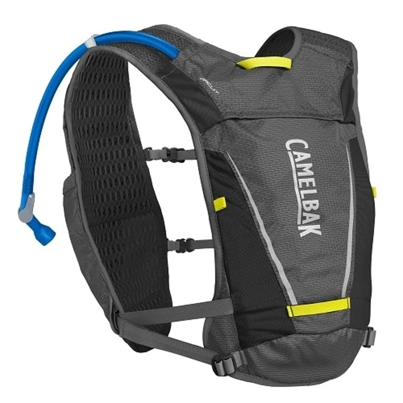 Circuit Vest + 1.5L Hydration Pack In Graphite/Sulpher Spring