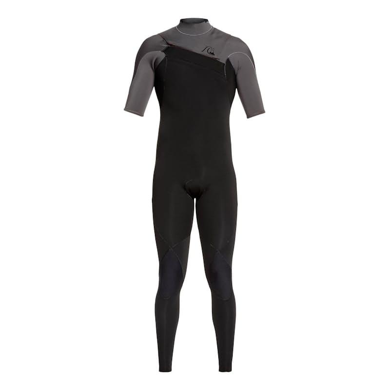 Men's 2.2mm Highline Ltd Monochrome Short Sleeve Chest Zip Springsuit