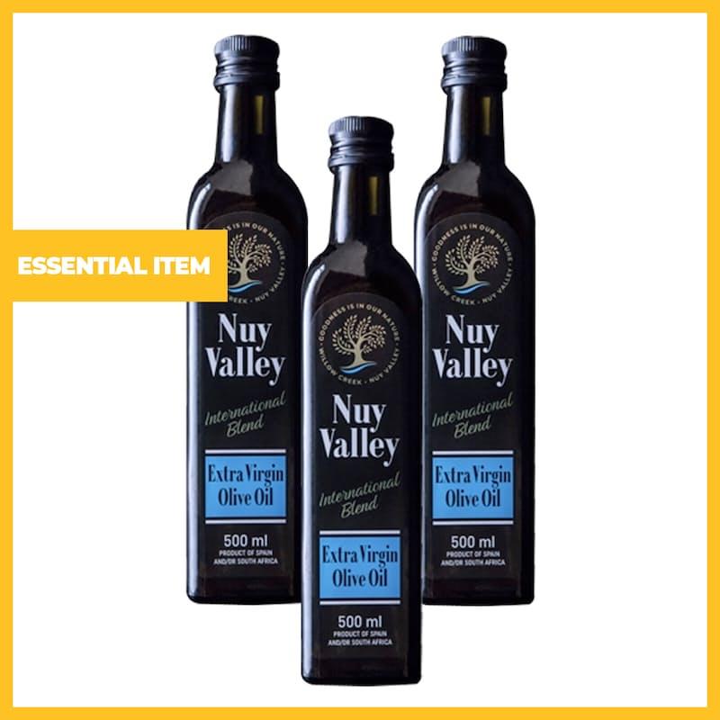 500ml Nuy Valley International Blend Extra Virgin Olive Oil (Set of 3 or 6)