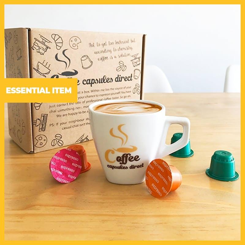 Pack of 70 Premium Nespresso Compatible Coffee Capsules (R3.27 per pod)