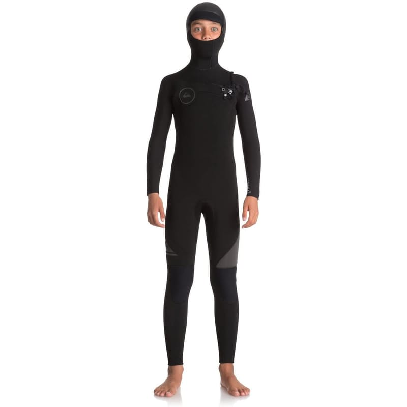 Boy's 5/4/3mm Syncro Series Chest Zip Hooded Full Wetsuit