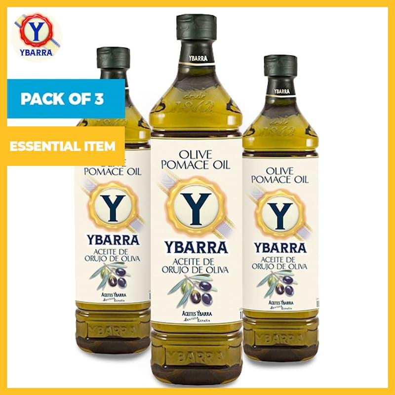 Pack of 3 x 1L Spanish Origin Pomace Olive Oil