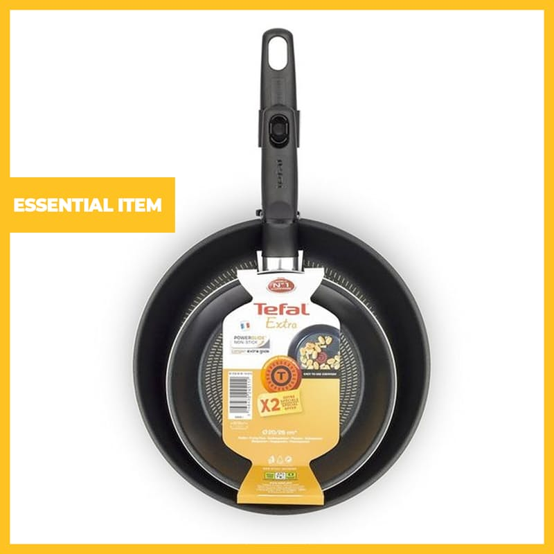 20cm and 26cm Extra Non-Stick Frying Pan Set