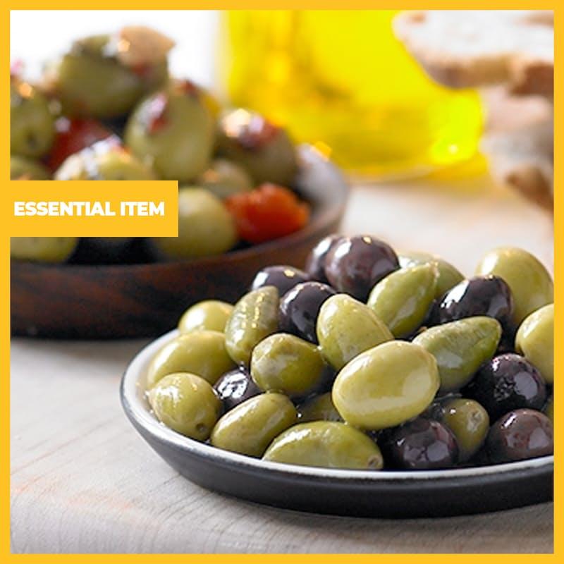 3.05kg Tin of Whole Calamata Style Olives