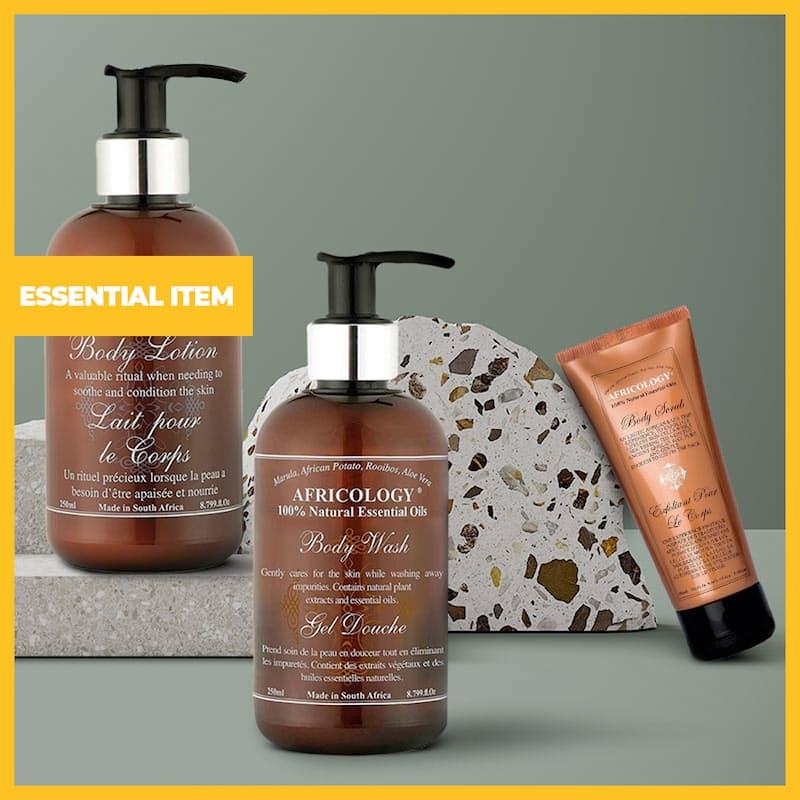 3-Piece Bath & Body Set (Body Wash, Body Lotion and Body Scrub)