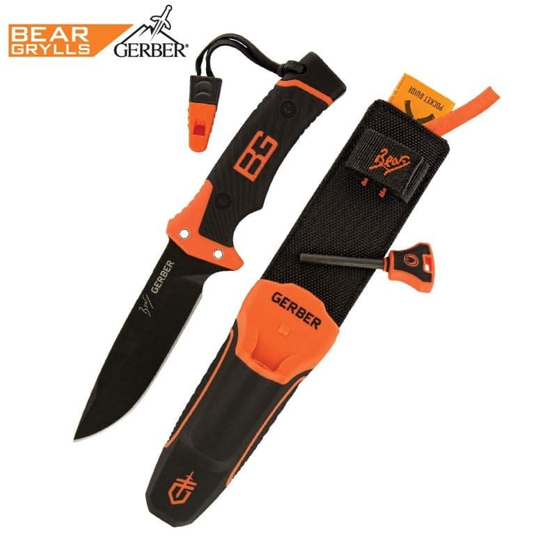 Bear Grylls Ultimate Pro Knife, Fine Edge