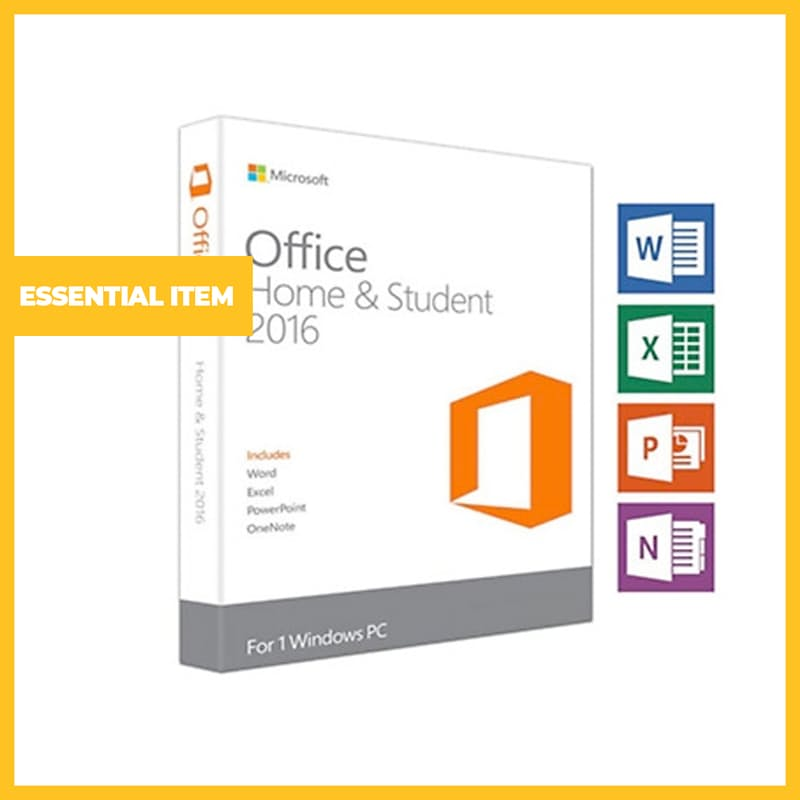 Office 2016 Home & Student (Mac and Windows Options Available)