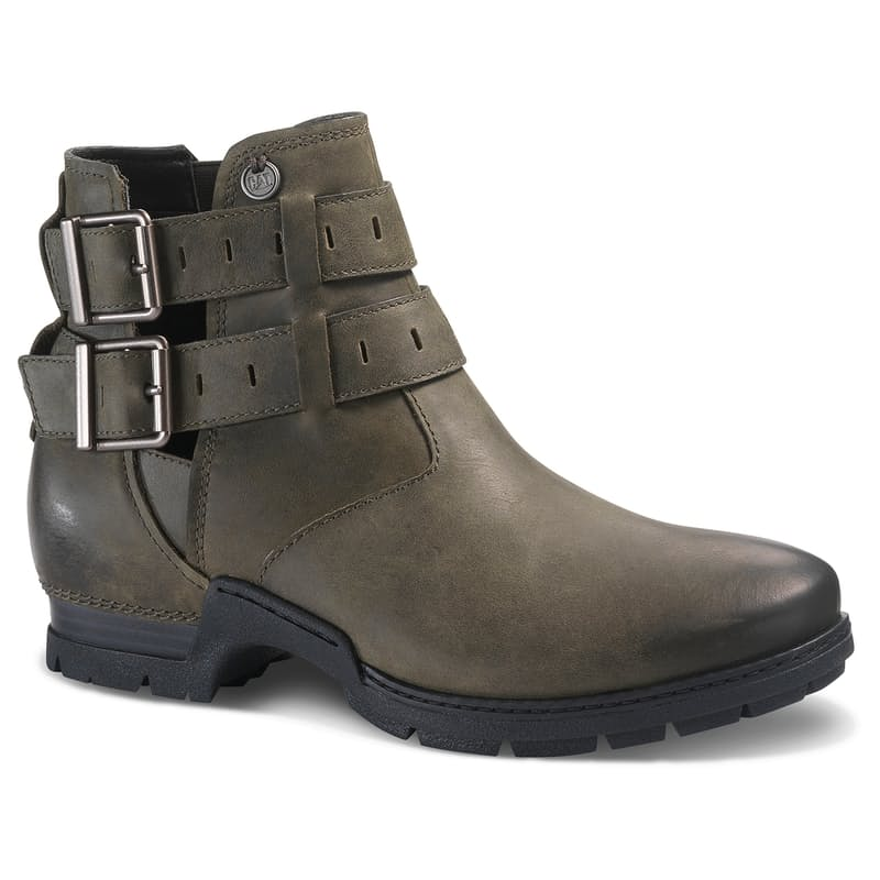 Ladies Lonesome Leather Ankle Boots