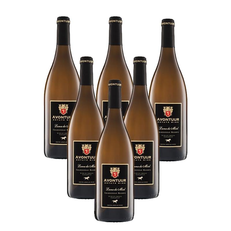 Luna De Miel Reserve Chardonnay 2018 (R133.16 per bottle, 6 bottles)