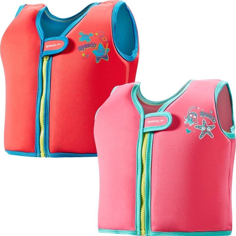 Learn to Swim Sea Squad Vest (Size 4-6)
