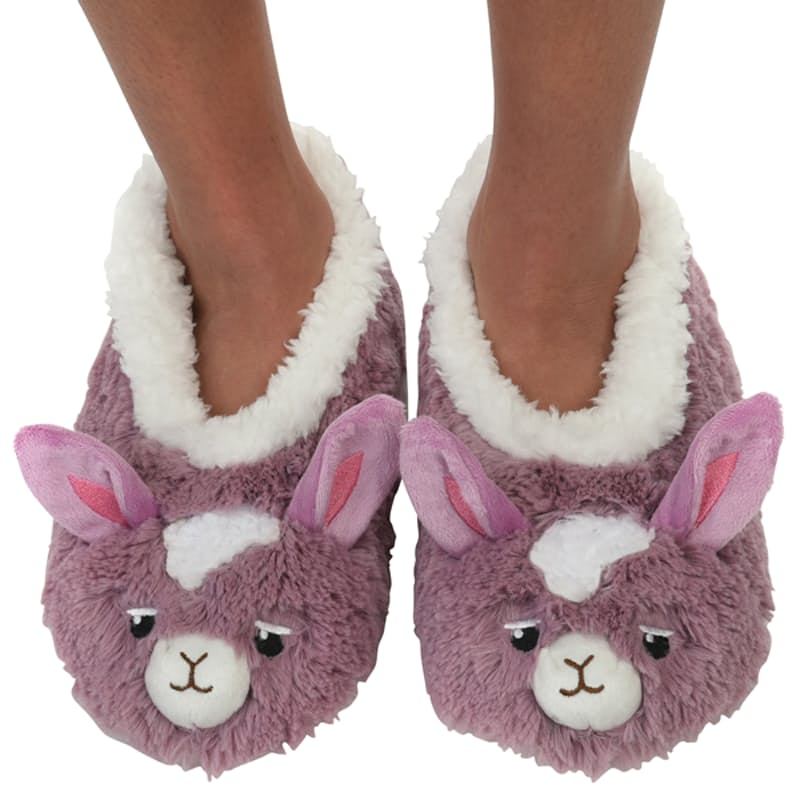 Kids Furry Foot Pals Slippers