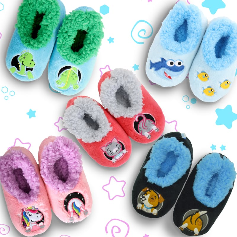 Toddler Patch Pal Slippers