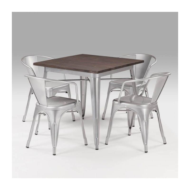 47% off on Owen Ultra-Modern Metal Dining Table ...
