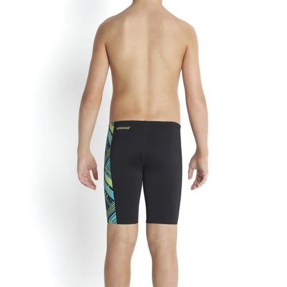 Speedo Boys Wavaweave Allover Panel Jammer Swim Shorts