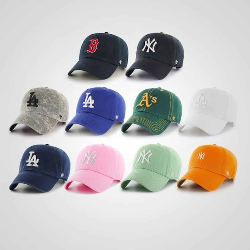 47' Clean Up Adjustable Baseball Caps