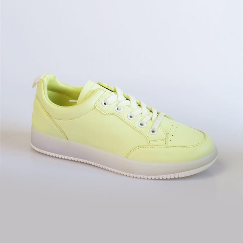 Ladies Retro Matte Sneakers