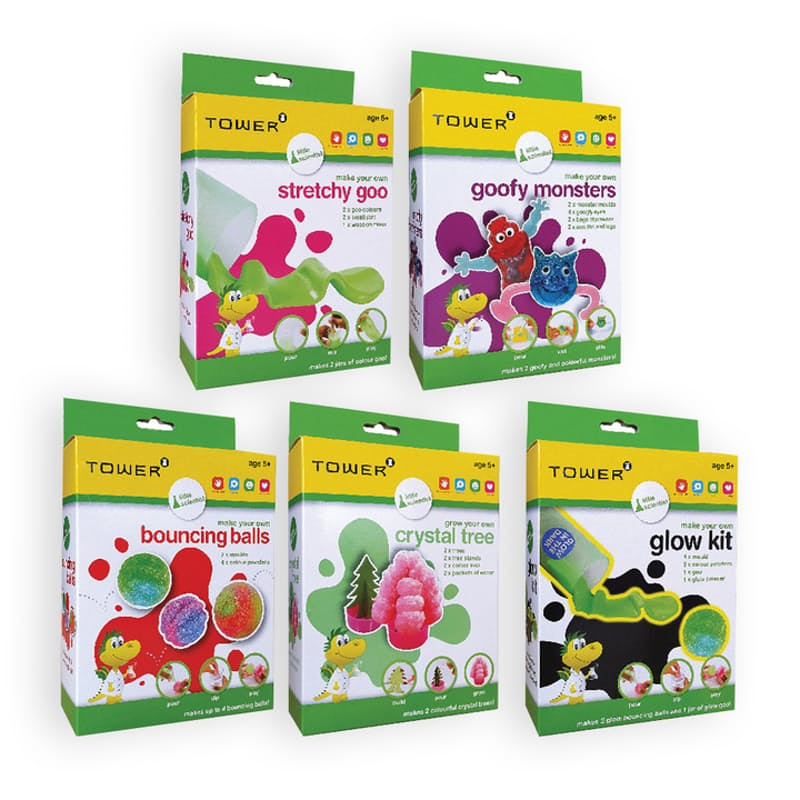 Pack of 5 Little Scientist Educational Bundle
