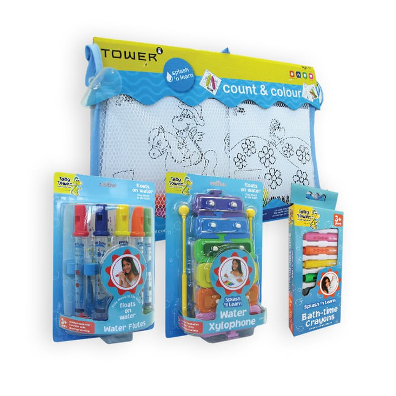Pack of 4 Splash and Learn Bundle