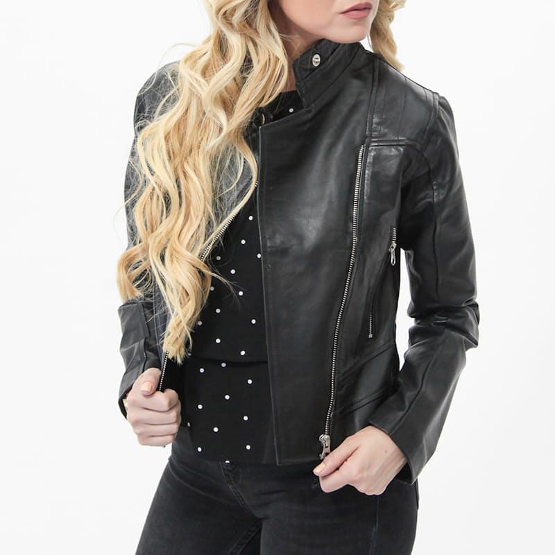 Ladies Genuine Leather Khaleesi Leather Jacket