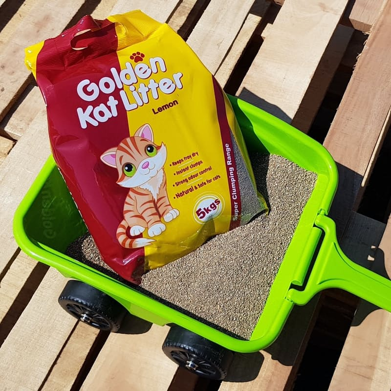 Pack of 3 Scented Clumping Cat Litter (5kgs Each)