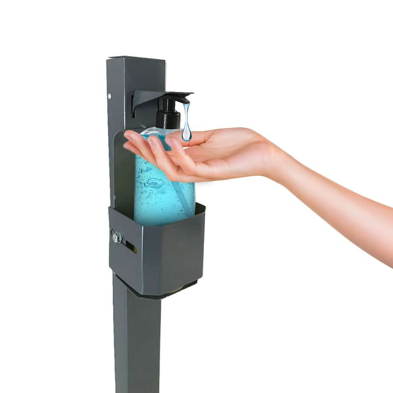 Steel Foot Operated Sanitiser Dispenser
