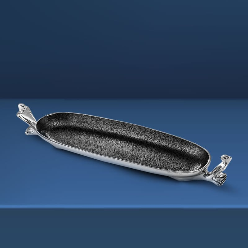 At Ease Canoe Cast Aluminium Serving Dish