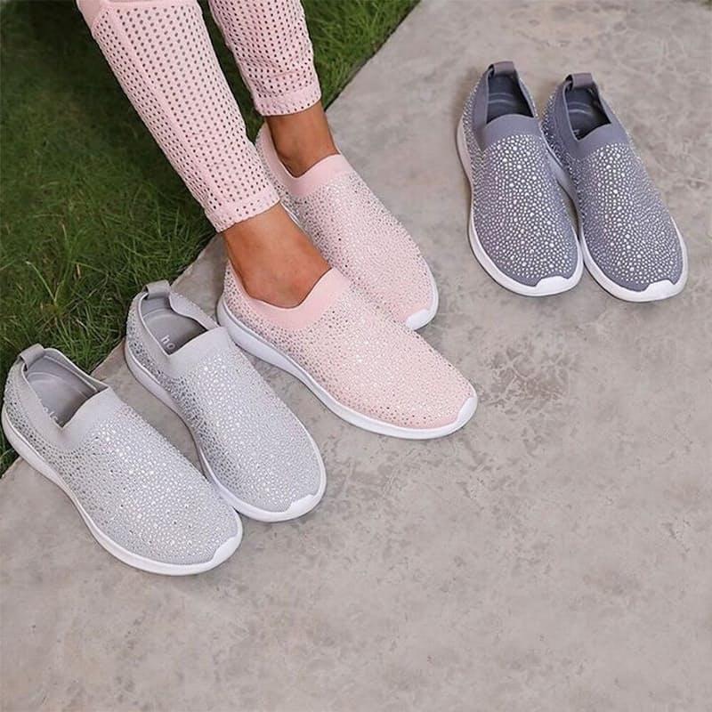 Ladies Firefly Lightweight Slip-On Sneaker