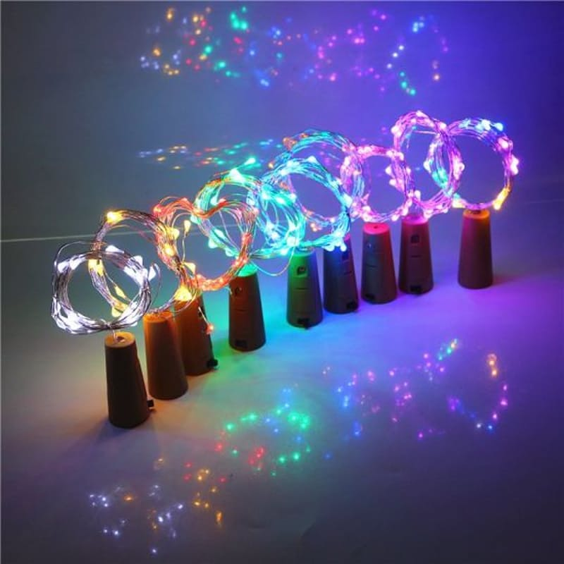Pack of 5 Wine Cork Light Strips (5 x 3m)
