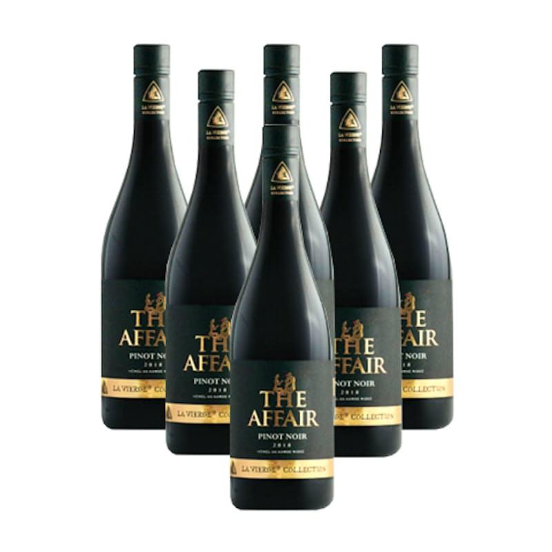 The Affair Pinot Noir 2018 (R124.83 per bottle, 6 bottles)