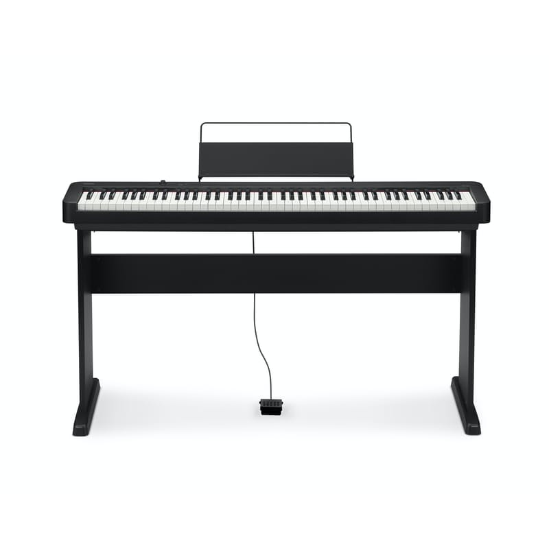 88 Key Digital Piano Including Wooden Stand (Model: CDP-S100BKC2)