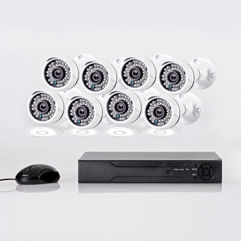 1080P CCTV  Surveillance Kit with Cameras (8 Channel)