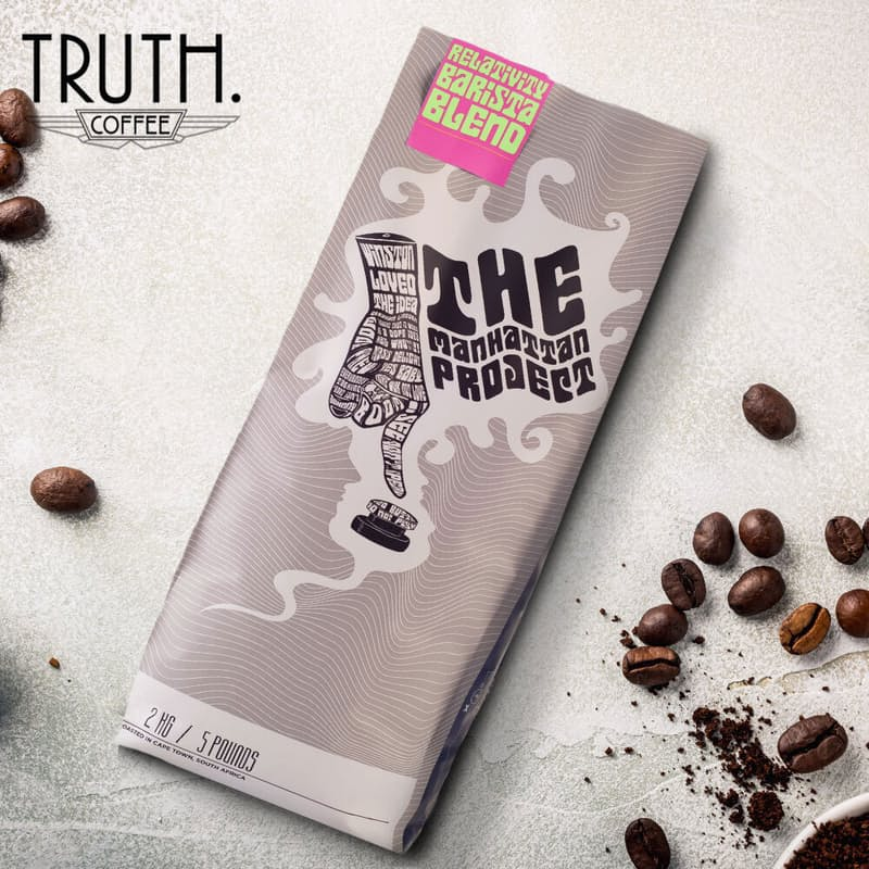 2kg Relativity Barista Blend Coffee Beans