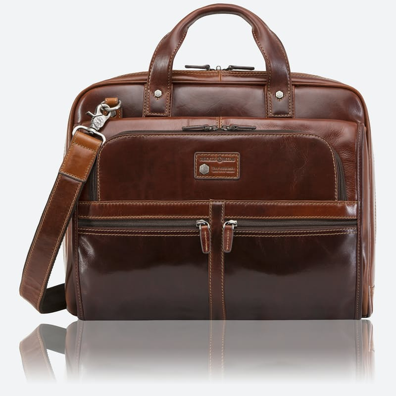 Genuine Leather Extra Large Briefcase