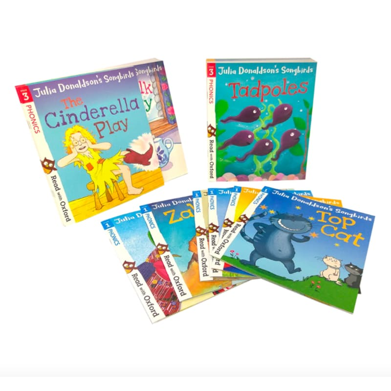 Oxford Reading Tree Songbirds Phonics Collection Stages 1 - 4 (36 Books)