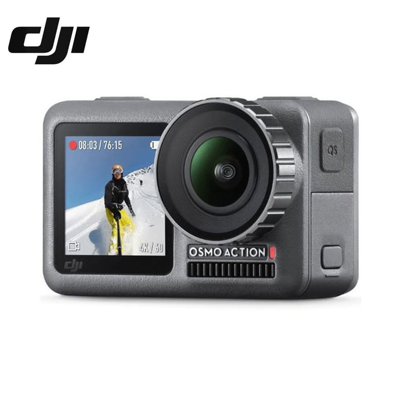Osmo Action Waterproof Action Camera Black