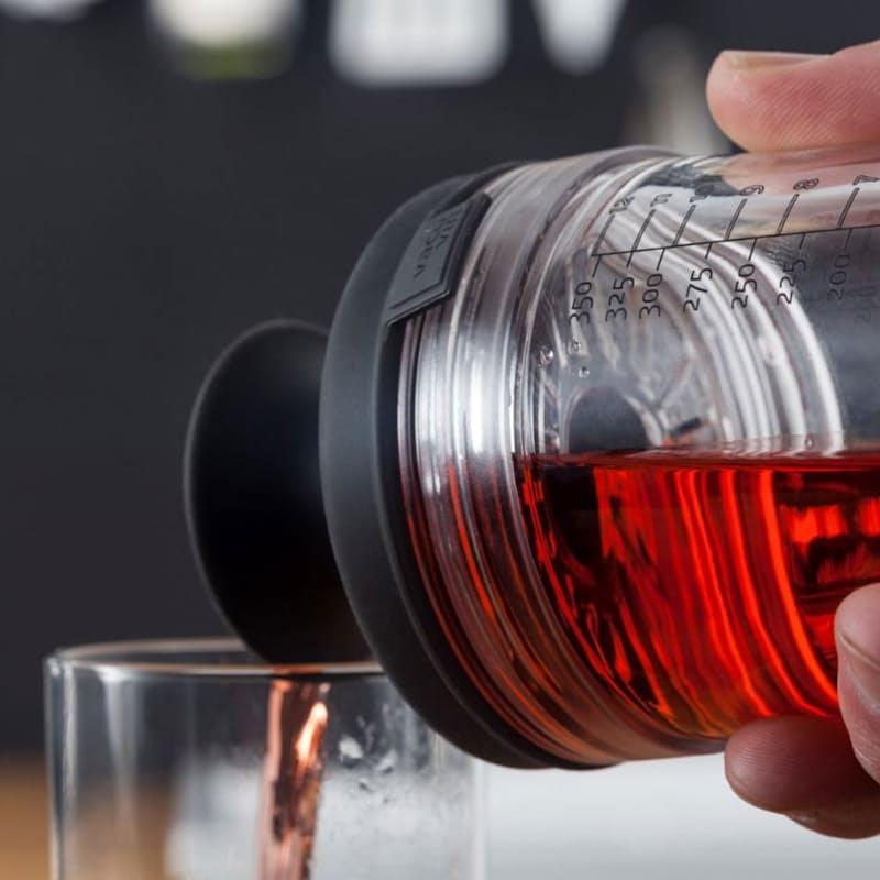Glass Cocktail Shaker & Strainer