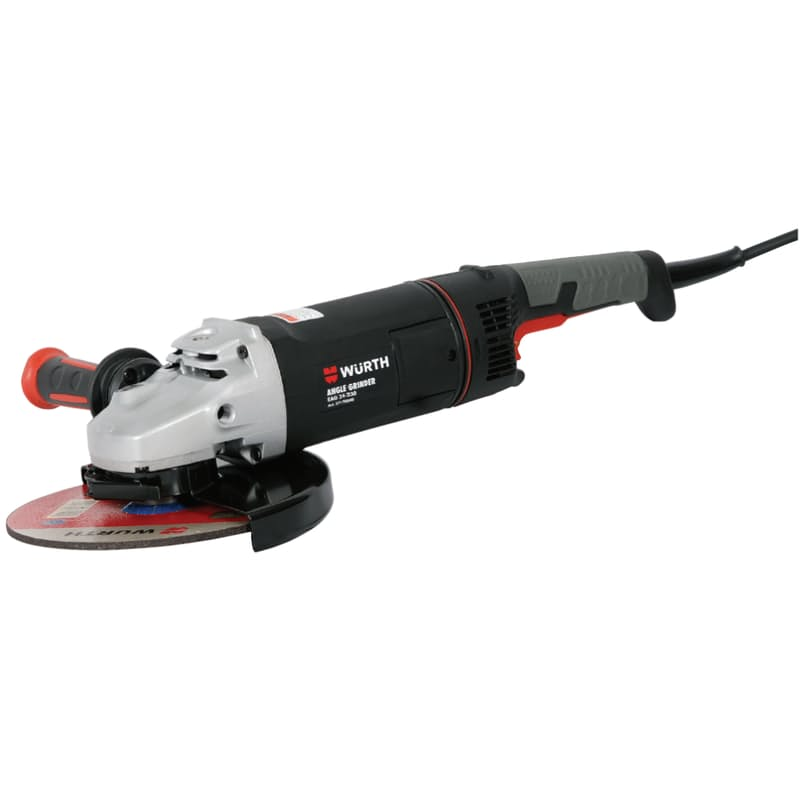 2400W 230mm Angle Grinder with 180° Rotating Handle