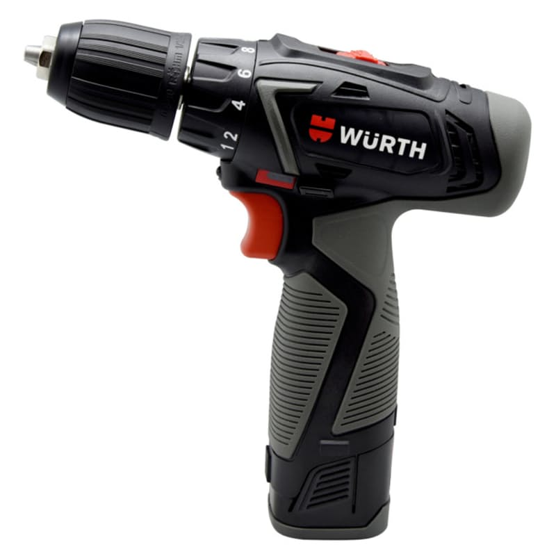 Cordless 14.4V Battery Drill with 2 Batteries and Charger