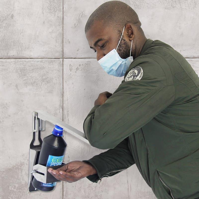 Wall Mounted Elbow Hand Sanitizer Dispenser