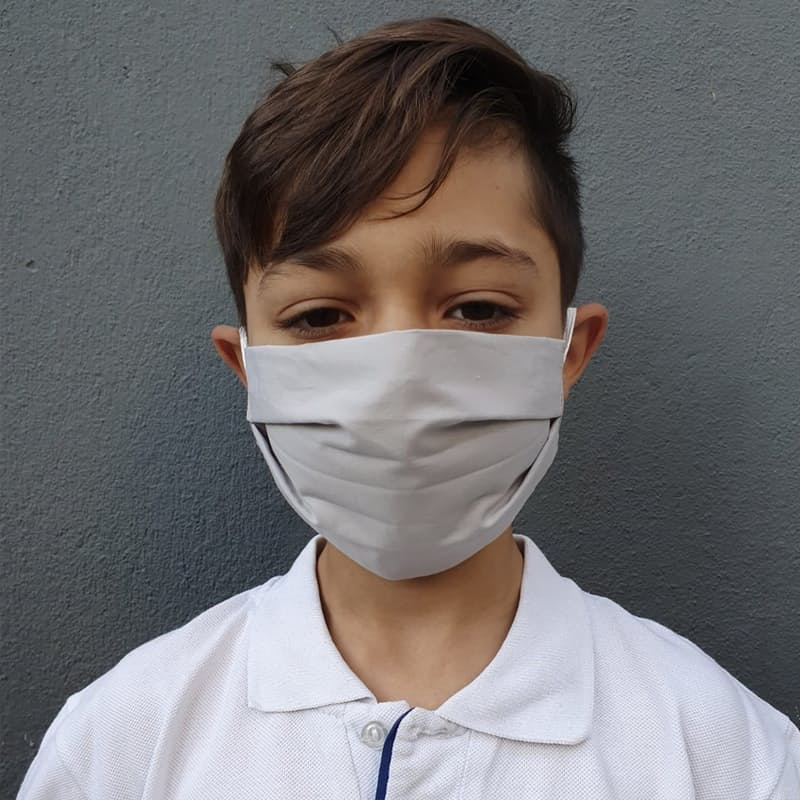 Pack of 2 Kids Masks with 8 Piece D15 Particle Spare Filters