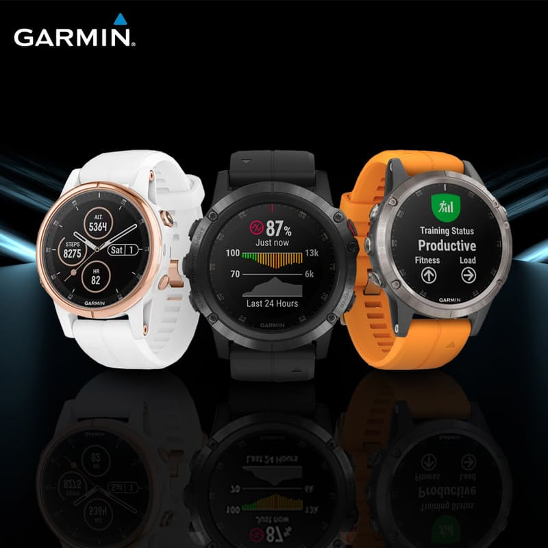 Fēnix 5,5S or 5X Plus Sapphire Sport Watch (More Colours Available)