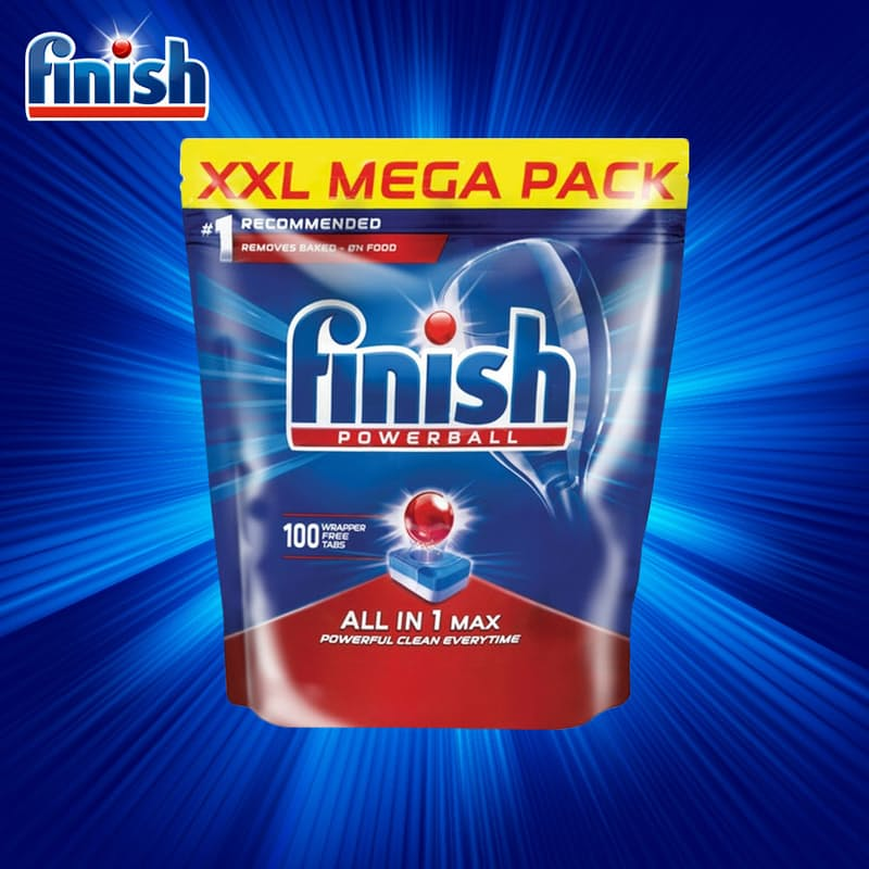 Auto Dishwashing All in One Tablets Regular (100's)