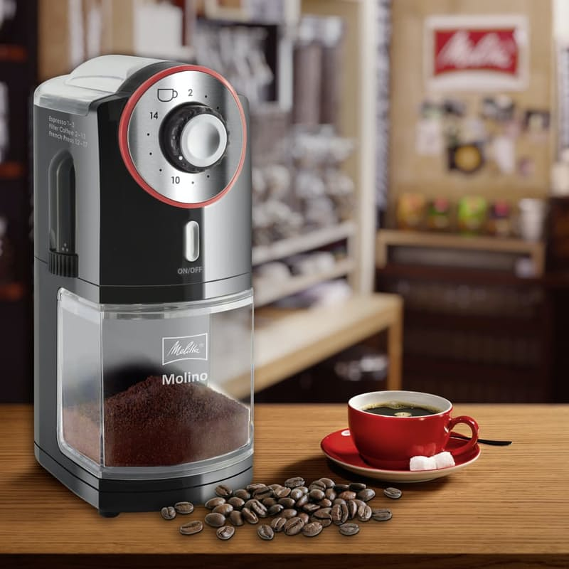 Molino Electric Coffee Bean Burr Grinder