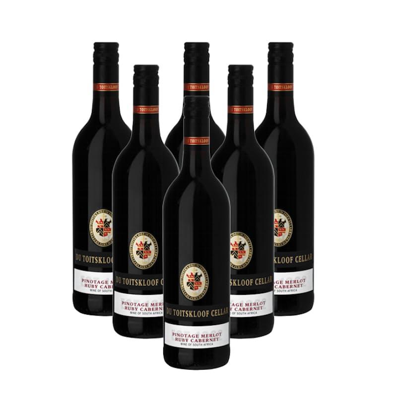Pinotage Merlot Ruby Cabernet 2019 (R46.50 per bottle, 6 bottles)