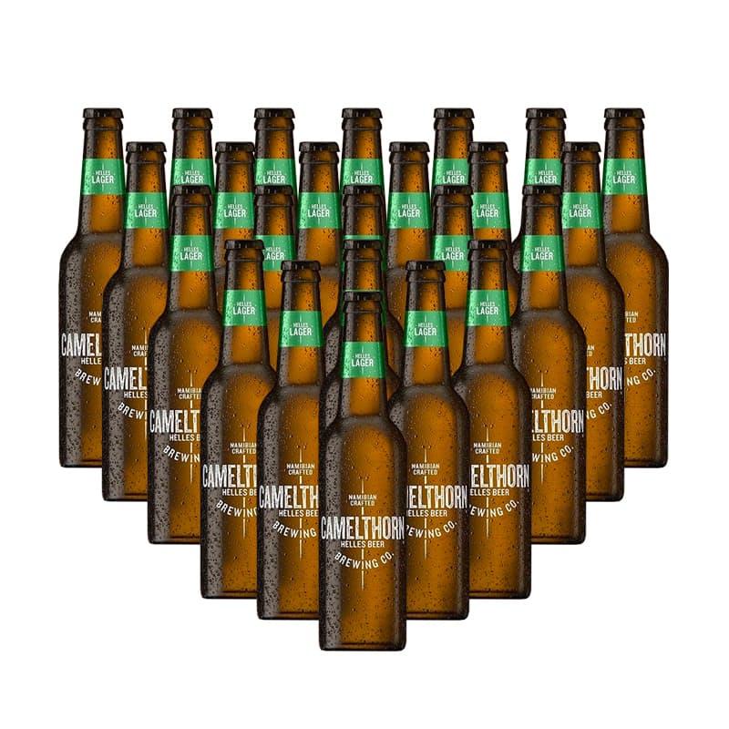 330ml Helles Lager (R9.54 per beer, 24 beers)