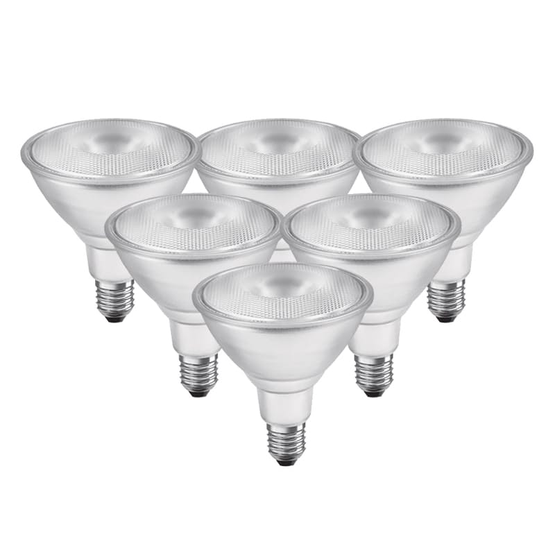 Pack of 6 13W Warm White Reflector Light Bulbs